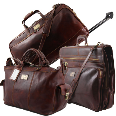 Tuscany Leather Travel Bags and Travel Accessories